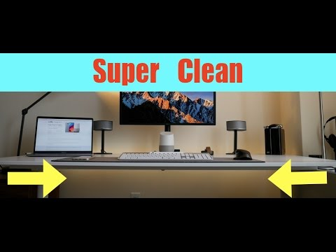 How To Cable Management For Desk Pc Laptop Speakers And More Cable Management