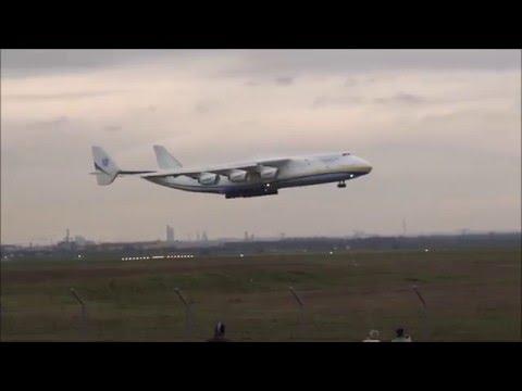 AN 225 landing + take off @ Leipzig