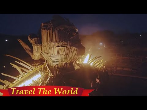 Wicker Man ride filmed at Alton Towers shortly before opening  - Travel Guide vs Booking