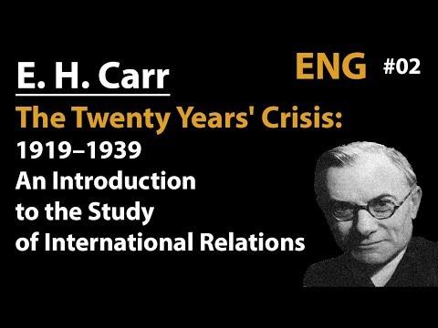 The Twenty Years' Crisis 1919–1939 (E. H. Carr)