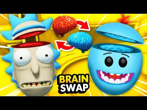 Swapping RICKS BRAIN With MEESEEKS BRAIN (Rick And Morty: Virtual Rick-ality Gameplay)