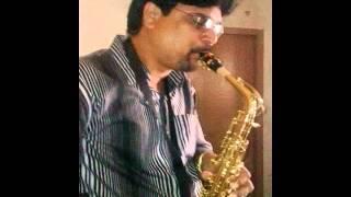 mere naina saawan bhadon instrumental saxophone