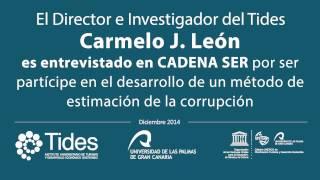 Carmelo J. Léon director del TIDES, es entrevistado en la Cadena SER
