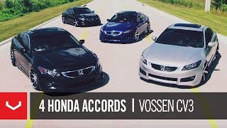 Honda Accords on 20