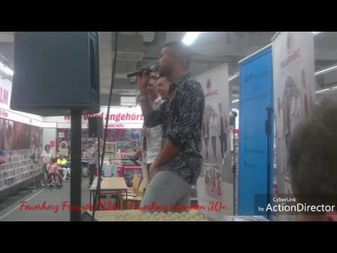 Chemnitz Media Markt 3.6.2017 mit Feuerherz Teil 1
