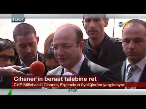 İlhan Cihaner Erzincan Davası Duruşması (NTV-27 Mart 205)