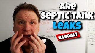 Septic Tank Leaks