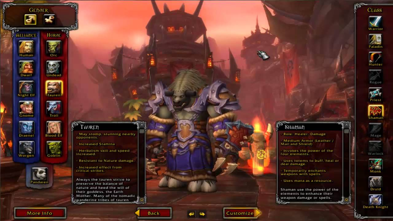 Beginners Guide to World of Warcraft-Part one Races and Classes