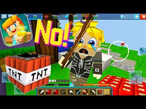 Blockman GO: Bed Wars Ep. 3 - Great Player in the Minecraft Mode on