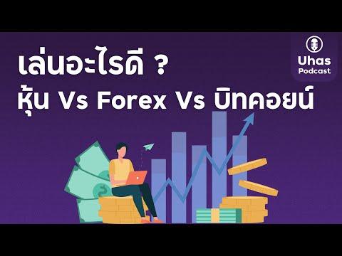 ลงทุนในอะไรดี ? หุ้น, Forex หรือ Bitcoin - Uhas Podcast EP. 8