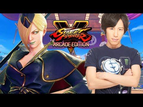 Momochi and Falke - First Day - Street Fighter V Arcade Edition Season 3.5