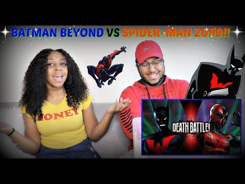 "ScrewAttack! ""Batman Beyond VS Spider-Man 2099 (DC VS Marvel) | DEATH BATTLE!"" REACTION!!"