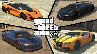 GTA V - Les voitures les plus rapides ! #1