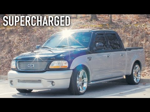 SHAMU the SLEEPER Truck! - Supercharged Harley Davidson F150 Truck Review!