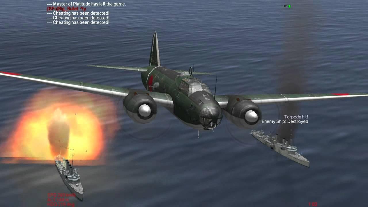 g4m betty G4M Betty Torpedo Run on UK Dedicated 1