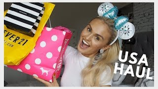 USA Haul! SEPHORA, VICTORIA SECRET, FOREVER 21 & MORE