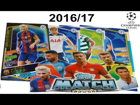 Álbum y stickers de la Champions League 2016/2017 - Liga de Campeones