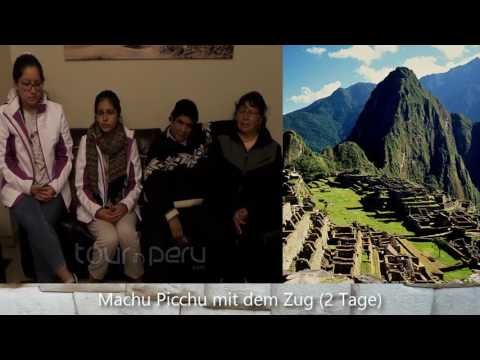 Machu Picchu mit dem Zug (2 Tage) - TOUR IN PERU