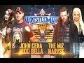 WWE John Cena & Nikki Bella vs The Miz & Maryse: WrestleMania 33