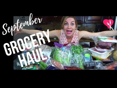 September Grocery Haul - FreshDirect
