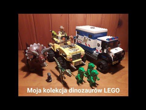 Moja Kolekcja Lego Dinozaury Film Z Głosem Youtube