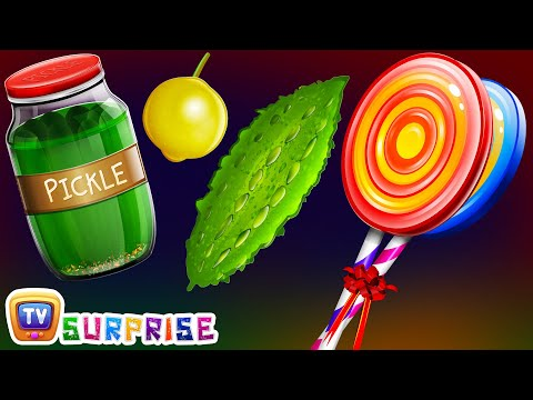 Thumbnail: Surprise Eggs Nursery Rhymes Toys | Learn Taste, Colours & Objects for Kids | ChuChu TV Egg Surprise
