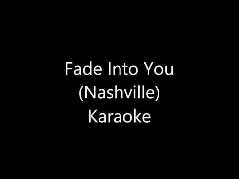 Fade into you Karaoke