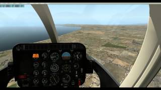X-Plane - First ever shared cockpit flight in the Bell 407