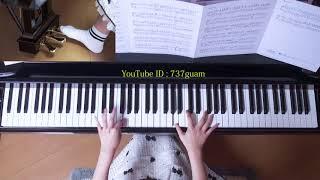 使用楽譜;ぷりんと楽譜・上級(採譜者:記載なし)、 JASRAC・作品コー...