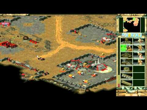 Command & Conquer Tiberian Sun Hard - GDI - 16: Destroy Prototype Facility (South) 1/1