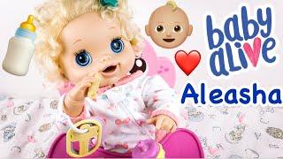 Baby Alive Doll Aleasha's Feeding, Playtime, and Nap Routine