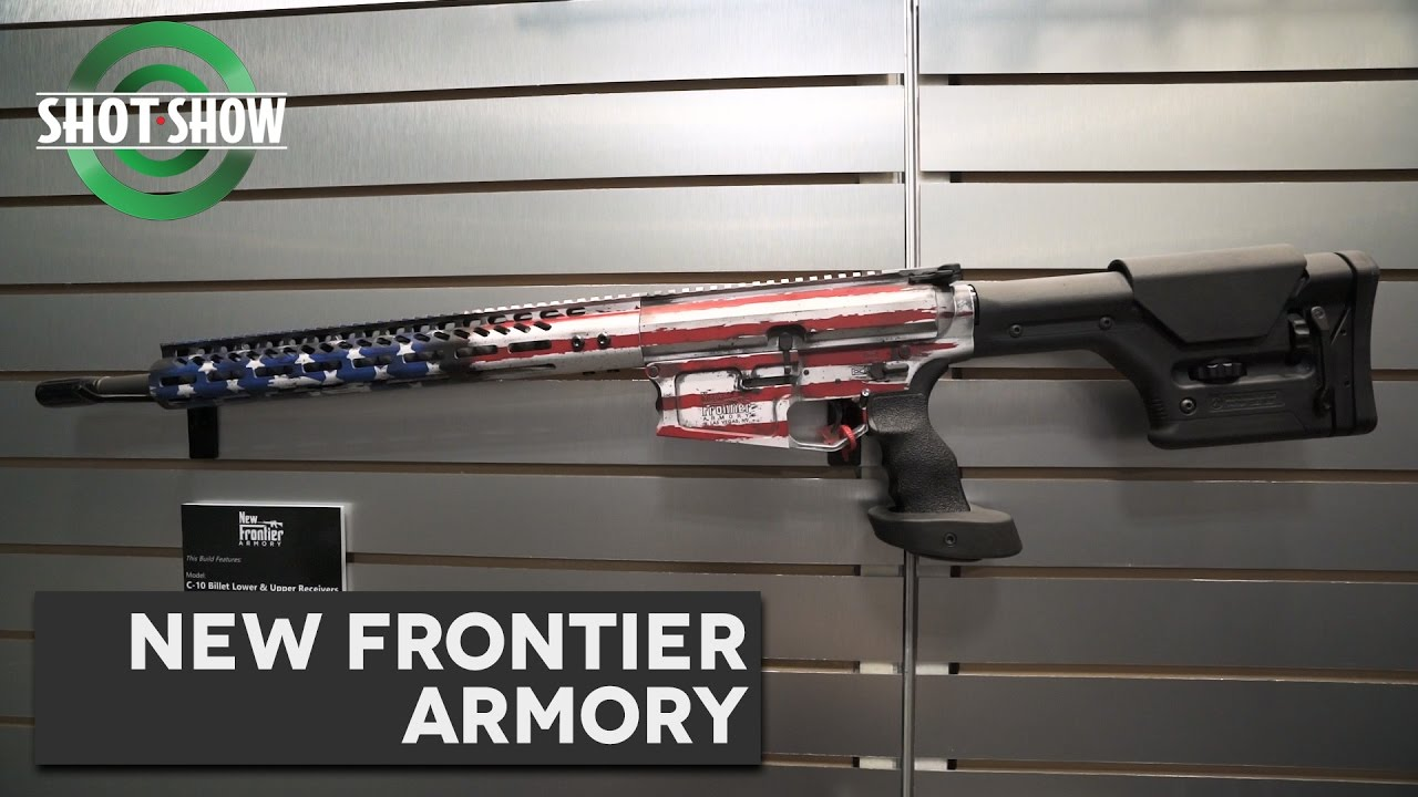 New Frontier Armory 45/10mm - SHOT Show 2017!
