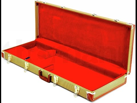 Thomann Hard Cases for Tele or Strat Tweed and Black Review