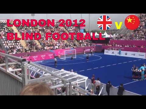London 2012 Paralympics Blind Football