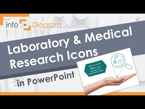 Medical PowerPoint - Laboratory Research Icons In PPT