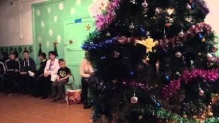 Новогодний КВН в школе-гимназии имени Батыр Баяна