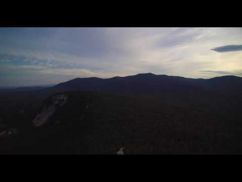 High above North Conway New Hampshire