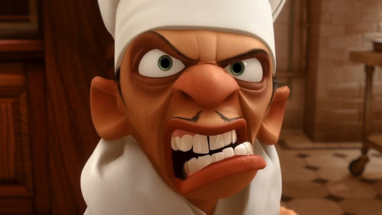 Ratatouille But It S Just Chef Skinner Youtube