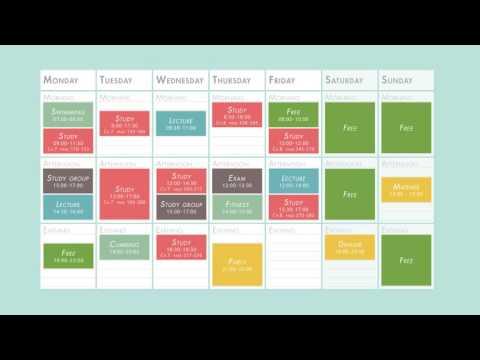 Make A Good Study Plan Youtube