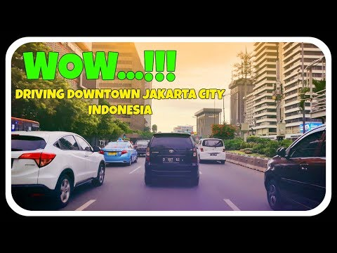 WOW!! BEAUTIFUL DOWNTOWN IN JAKARTA CITY INDONESIA