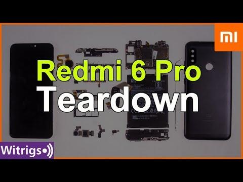 Redmi 6 Pro Teardown | Disassembly