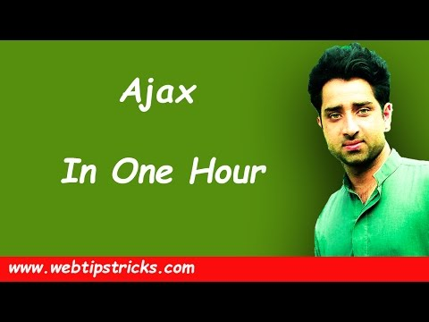 Learn-Ajax-In-One-Hour-In-Urdu/Hindi