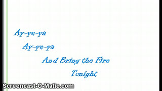 Bring the Fire by YLWA- Lyric Video
