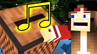 HILARIOUS NOTE BLOCK TROLLING IN MINECRAFT!