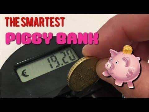 Money Counter Aozbz Jar The Smart Piggy Bank
