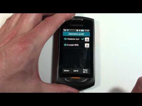 Samsung Monte Vzpostavitev Wi-Fi povezave