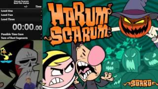 The Grim Adventures of Billy & Mandy: Harum Scarum - 5:58 [World Record]