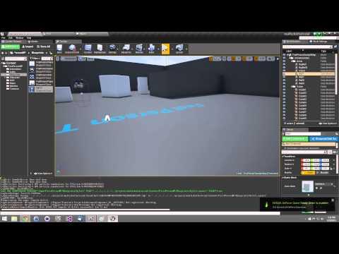 Simple Multiplayer UMG Global Chat Blueprint Tutorial /w Unreal Engine 4.8.3 Tutorial