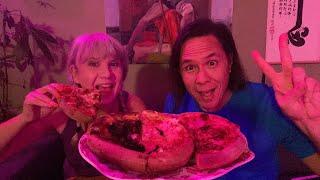 Ryan's Birthday Mukbang Party! Vegan Pizza, Ice Cream, & more.