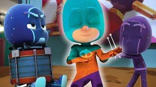 PJ Masks en Español Los momentos graciosos de PJ Masks - Dibujos Animados